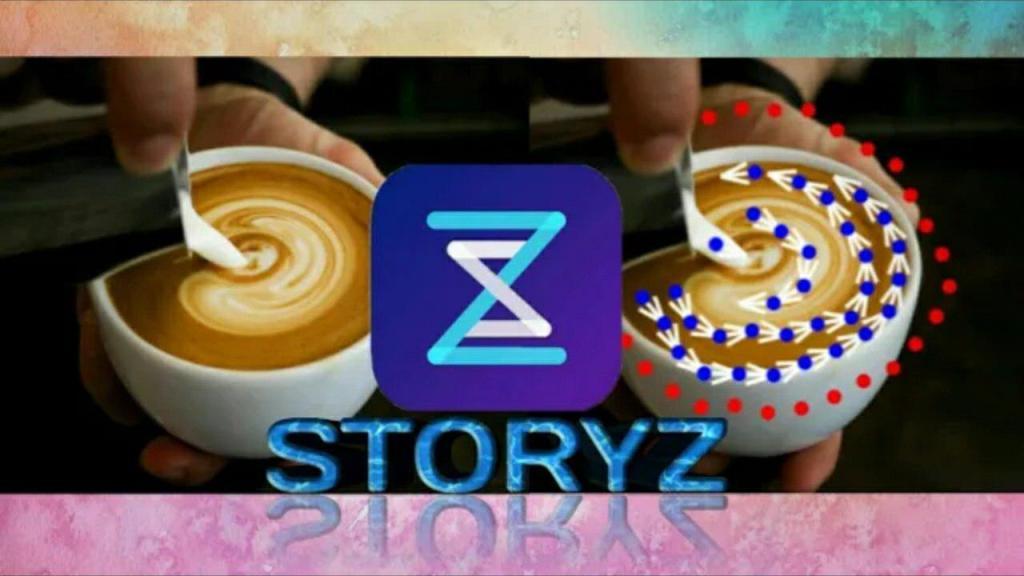 تحميل تطبيق StoryZ لجعل جزء من صورتك الثابتة متحركة بشكل لايصدق