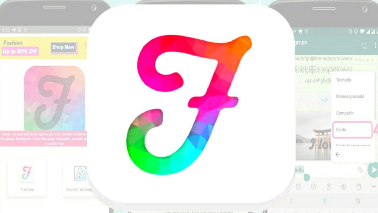 افضل تطبيق لتغير الخط على برنامج Facebook و Instagram و WhatsApp للاندرويد