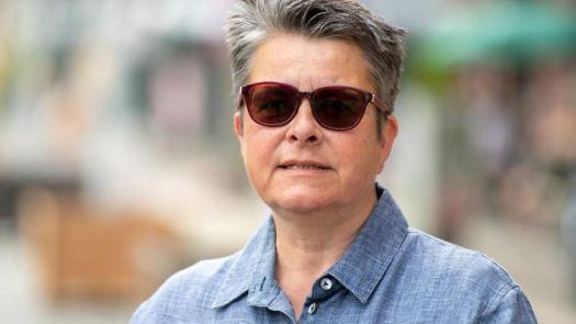 Monika Herrmann (Bündnis 90/Die Grünen), Bezirksbürgermeisterin von Friedrichshain-Kreuzberg. Foto: Christophe Gateau/dpa/Archivbild