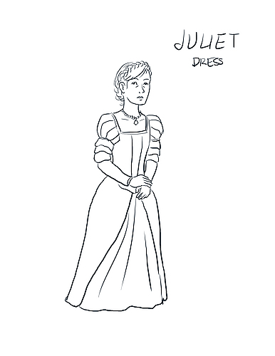Juliet Costume Design