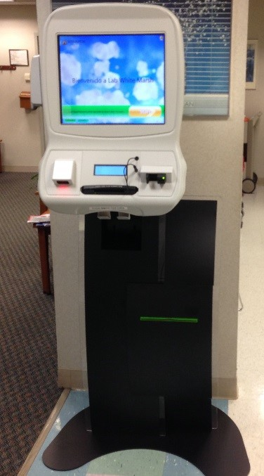 Patient Checkin Kiosk Goes Live at the Johns Hopkins Medical Laboratory  White Marsh  The