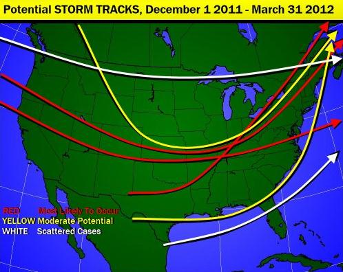 Winter of 2012 Preview blocking pattern may favor colder