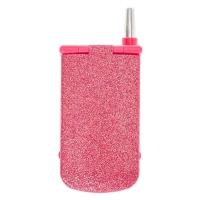 Pink Glitter Cellphone Makeup Compact