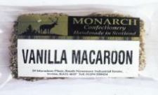 Candyco Monarch Confectionary Vanilla Macaroon