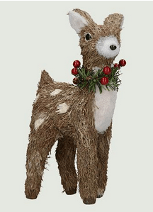 Dunelm Brushed Small Standing Reindeer
