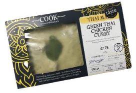 Cook Green Thai Chicken Currry