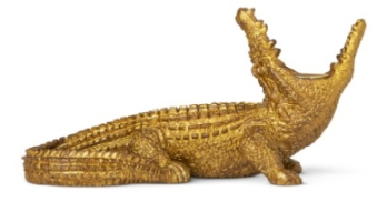 flying tiger copenhagen crocodile candle holder