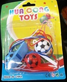 Hua Cong Toys football whistle