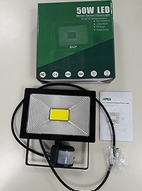 50W LED Motion Sensor Flood Light