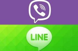 Сравнение Viber Line