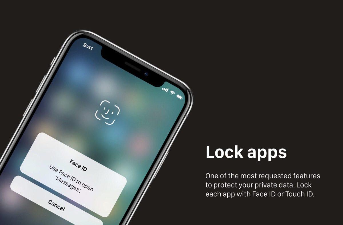 концепт iOS 12