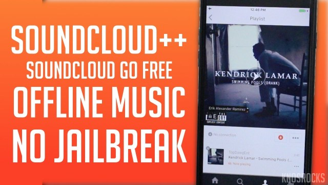 Get SoundCloud++ | Soundcloud Plus FREE iOS 12 – 12.3 Offline Mode No Jailbreak