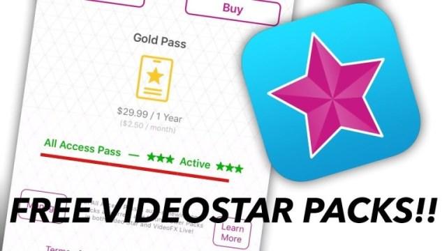Get Video Star Free All Access Pass & Packs   VideoStar++ All Effects FREE!