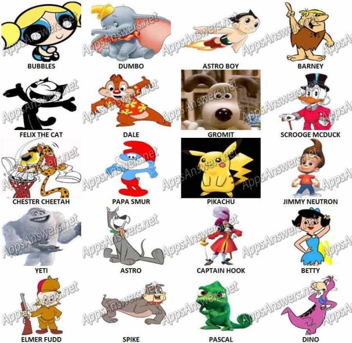 Cartoon Characters Quizzes : S cartoon quiz questions ankaperla