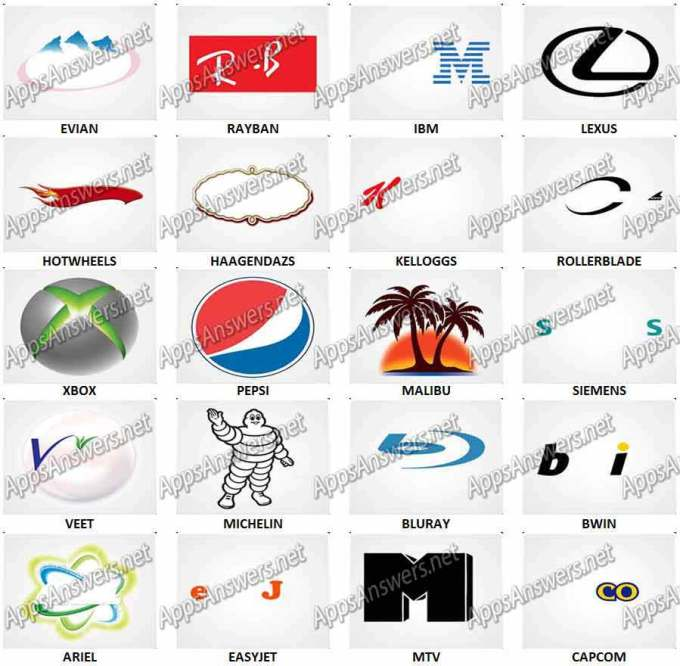 logo quiz game answers level 25 gamesworld