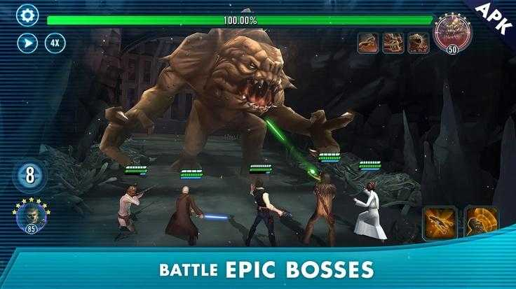 Star Wars™: Galaxy of Heroes للاندرويد