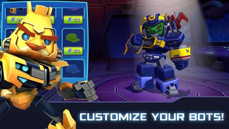 Angry Birds Transformers للاندرويد