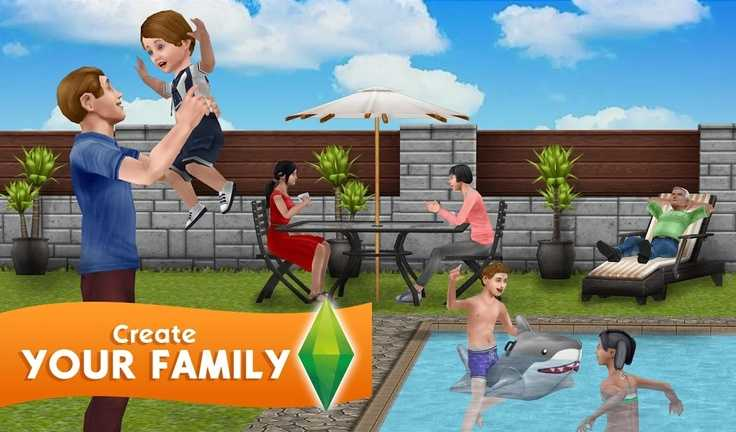 The Sims FreePlay مهكرة للاندرويد