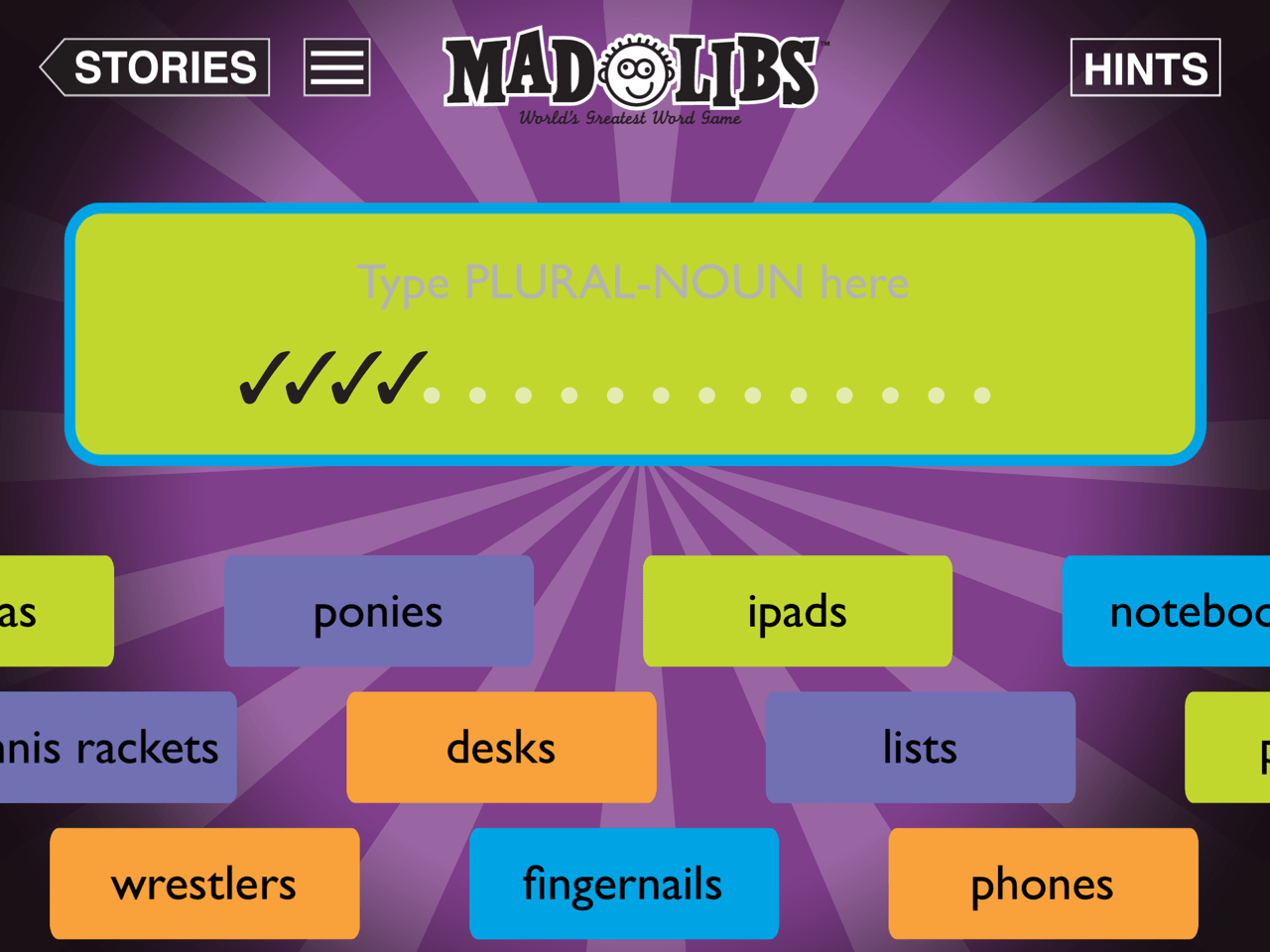 Mad Libs A Fun Classic Educational Apps For Elementary Teachers Amp Students