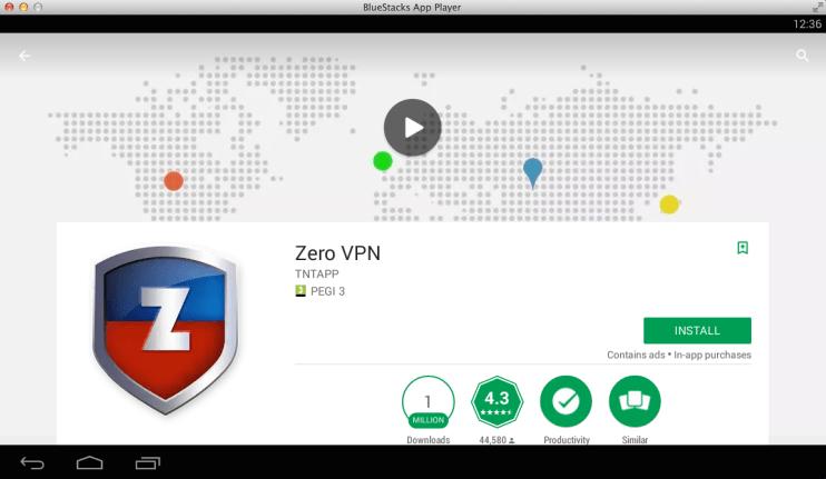 Zero VPN for PC - Windows 7,8,10 and Mac - Free Download