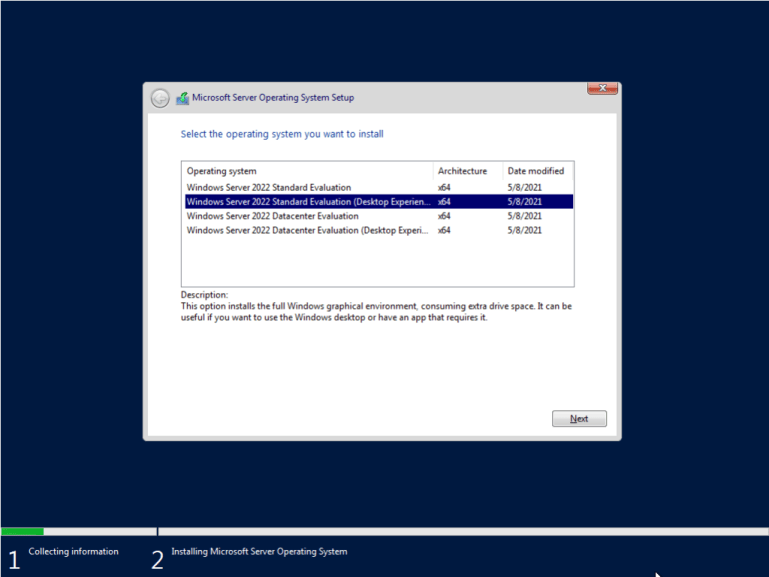 Télécharger Windows Server 2022