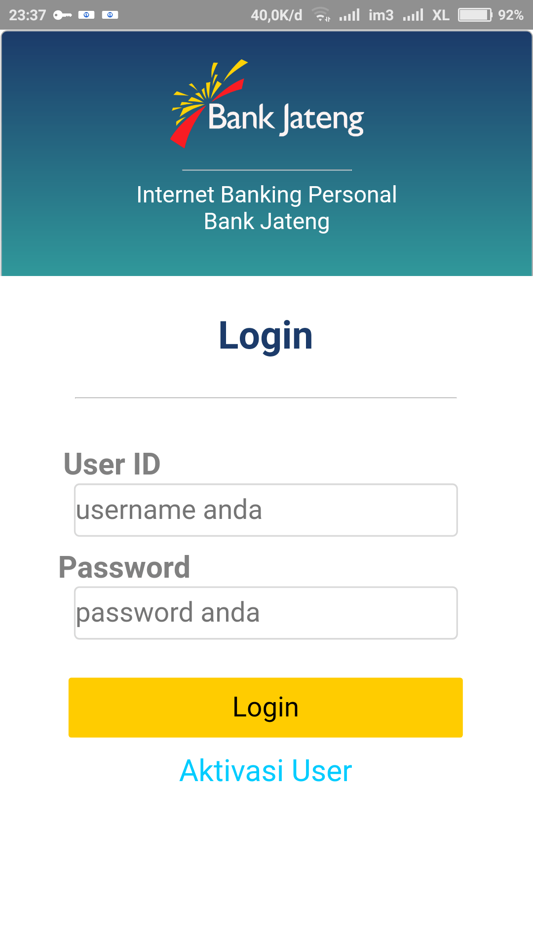 Bank Jateng Ibanking : jateng, ibanking, Jateng, Android, Download