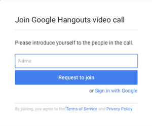 join guest hangouts