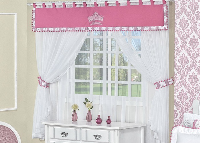 Cortina Infantil Princess 220 Metros x 180 Metros  SHOP