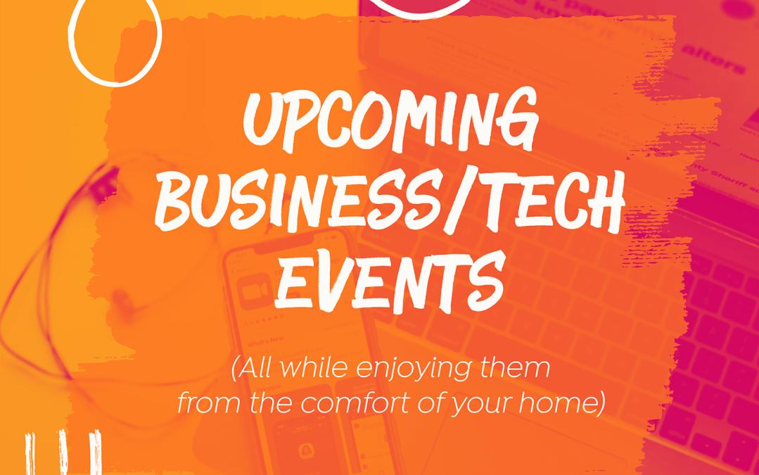 Business & Tech Online Events