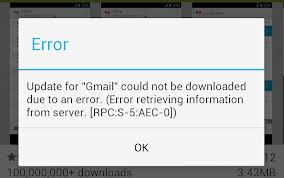 Android Fix: RPC:S-5:AEC-0 error while updating or installing apps Google Play Store