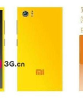 leaked Xiaomi Mi3 charging pic