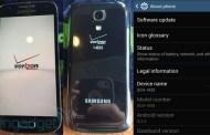 Galaxy S4 Mini for Verizon Wireless leaked