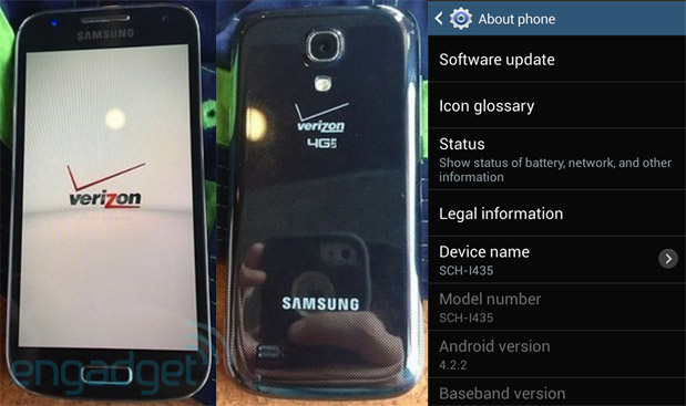 Galaxy S4 Mini for Verizon Wireless leaked