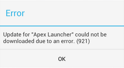 How to fix android error 921 with st cleaner & booster app.