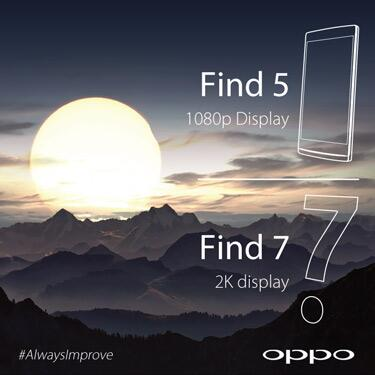 Oppo find 7 to come with a 2k resolution