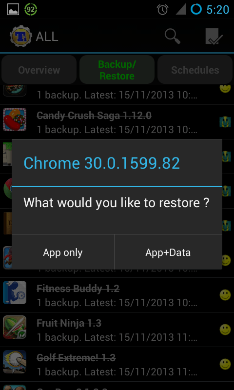 Android Tips: How to revert apps to previous version