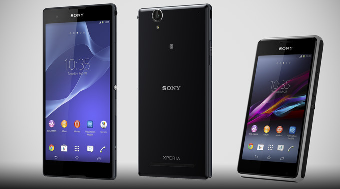 Sony Xperia T2 Ultra and Xperia E1 - Sony annouces new budget android devices