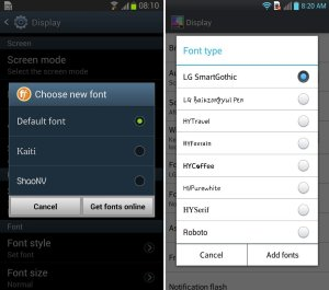 How To Change Font On Android Device