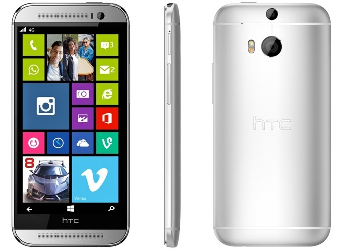 HTC One M8 for Windows Phone launched