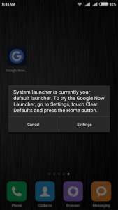 HOW TO INSTALL GOOGLE NOW LAUNCHER IN XIAOMI REDMI 2 PRIME