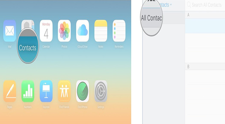 iphone contacts - move contacts from iPhone to Android