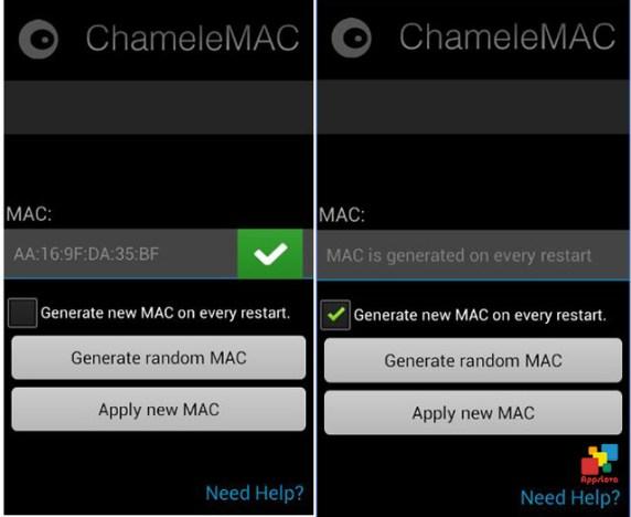 ChameleMac App