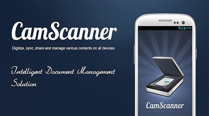 Useful apps for android - camscanner
