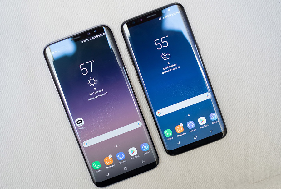 Samsung launches S8 and S8 Plus