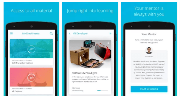 Educational Apps - Udacity