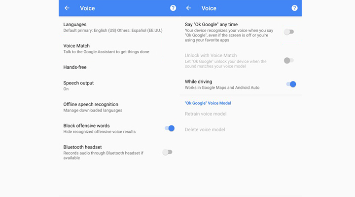 How to stop Google from listening to Android for Ok Google