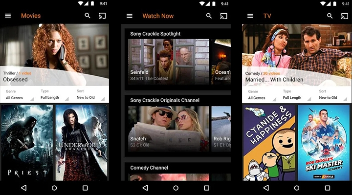 apps watch movies free