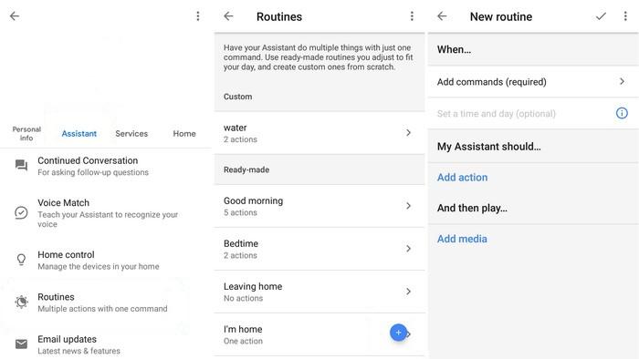 Create Custom Commands in Google Assistant