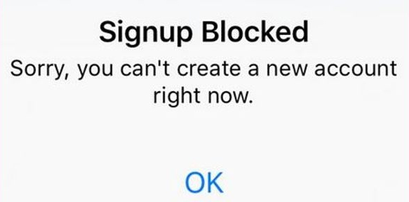 Fix Signup Blocked Error on Instagram [How To]