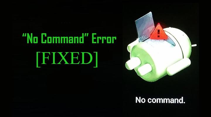 Fix No Command Error